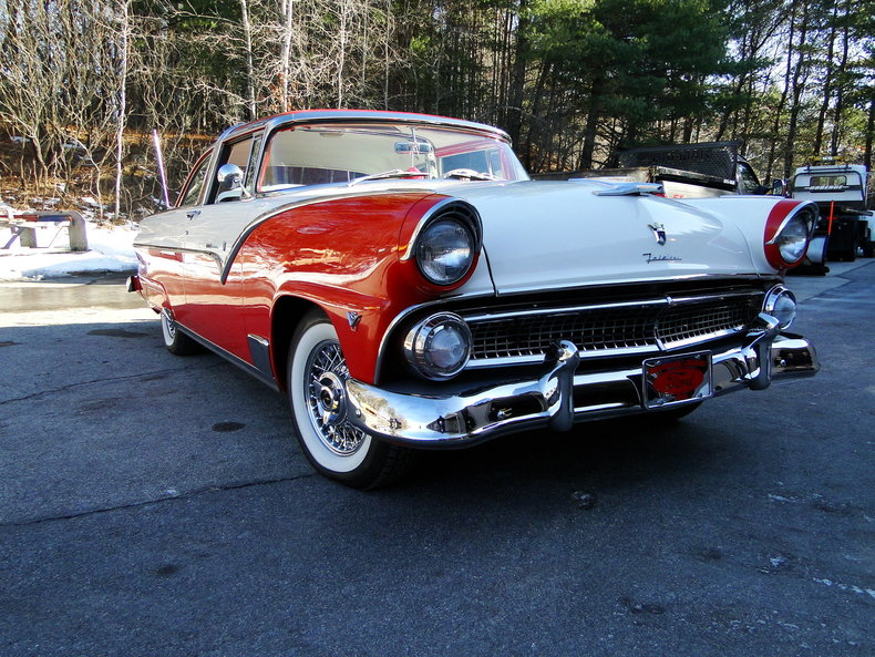 1955 ford fairlane crown victoria legendary motors for Crown motors ford redding