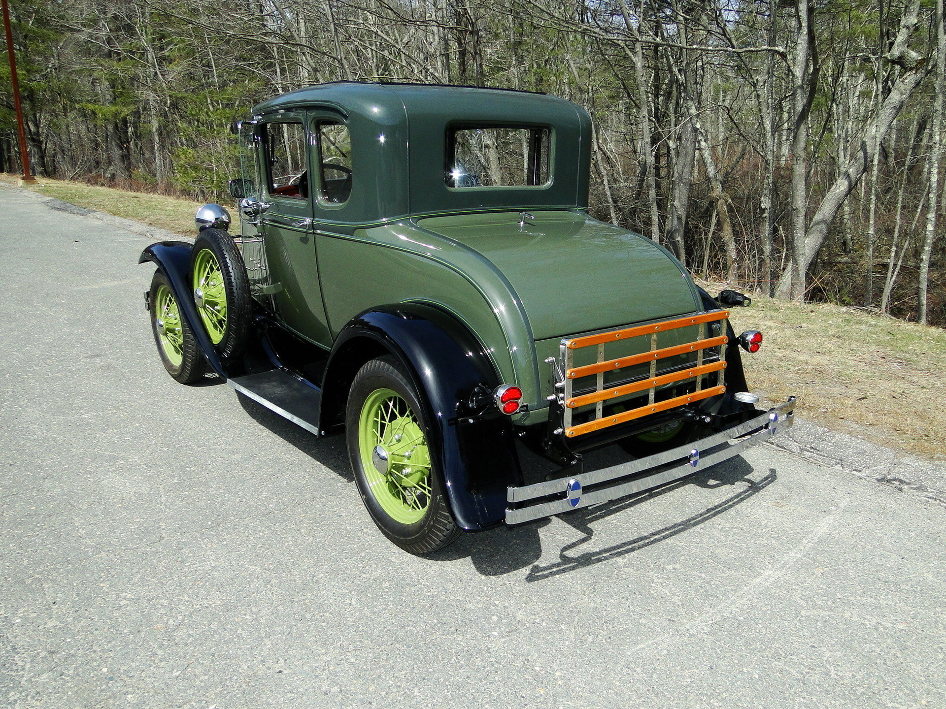 1931 Ford Model A Deluxe Rumble seat Coupe for sale #85125 | MCG