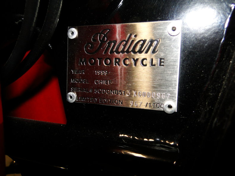 1999 1999 Indian Chief For Sale