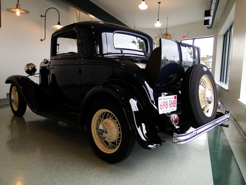 1932 Ford Deluxe 3 Window Coupe Legendary Motors