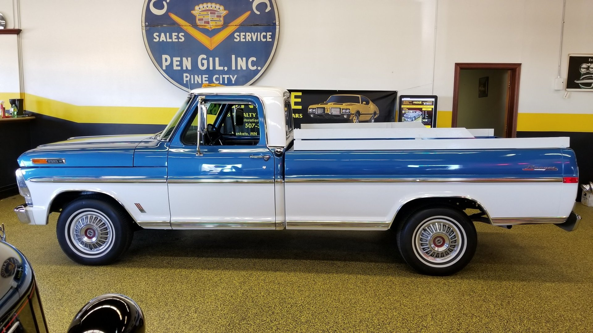 1969 Ford F100 Ranger For Sale 105516 Mcg Short Bed