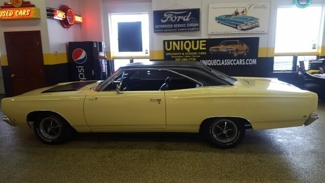 1968 Plymouth Road Runner Unique Specialty Classics