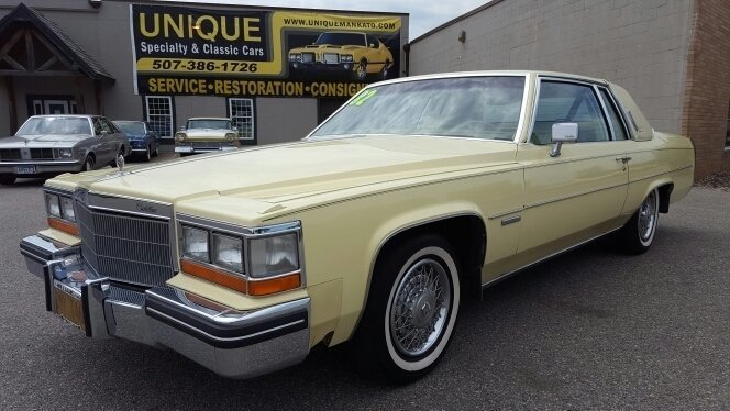 1982 Cadillac Coupe DeVille