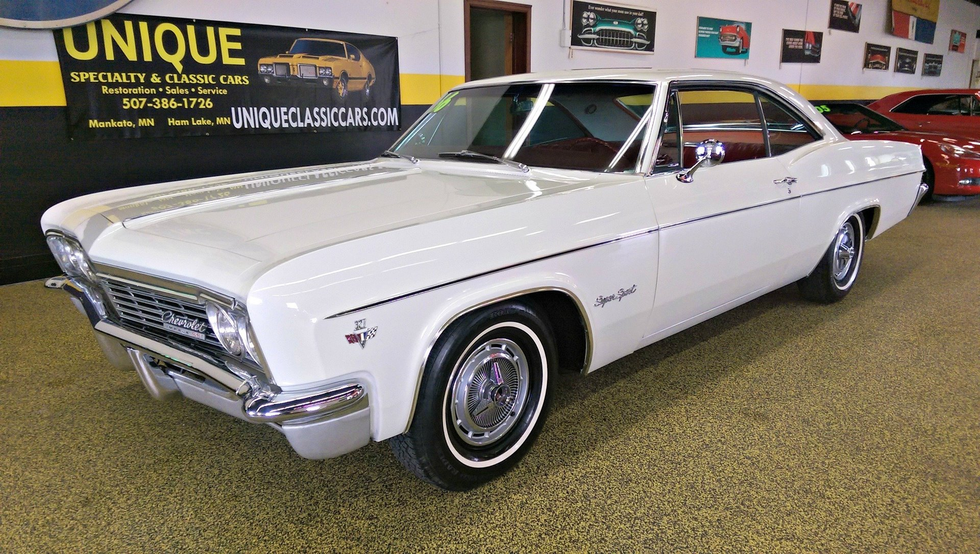 1966 Chevrolet Impala Ss 2dr Hardtop For Sale 50284 Mcg