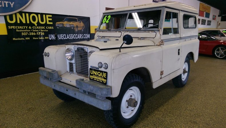 1962 Land Rover Series IIA