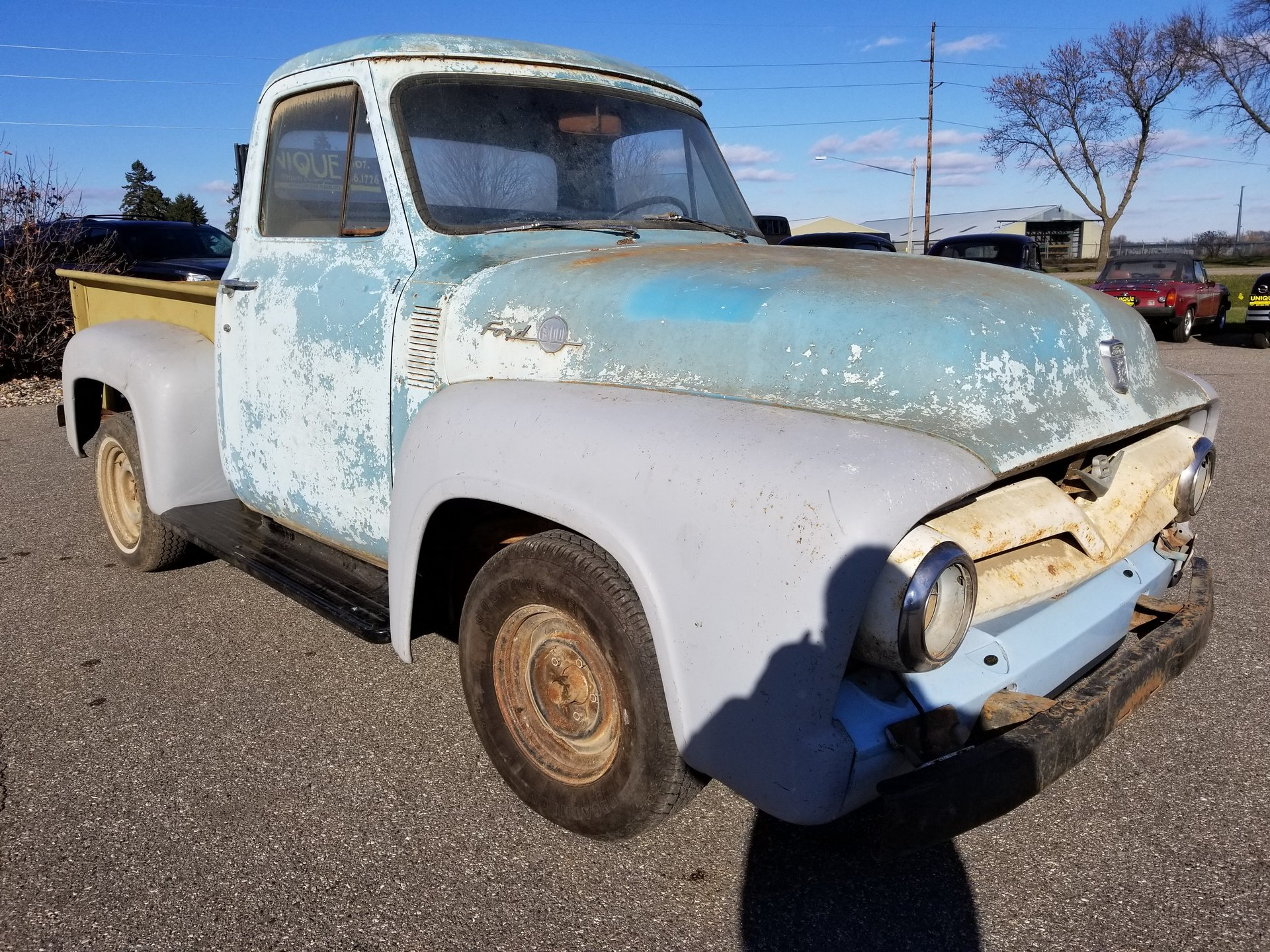 1954 Ford F100 Unique Specialty Classics Pick Back Zoom Icon Show Pictures