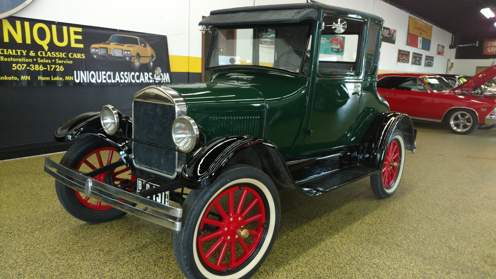 1926 Ford Model T Coupe for sale #63199 | MCG