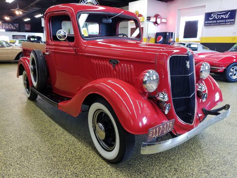 1935 ford pickup for sale 65374 mcg. Black Bedroom Furniture Sets. Home Design Ideas