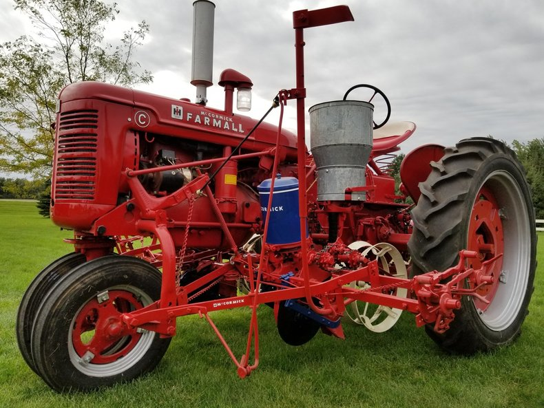 1947 International C with Planter