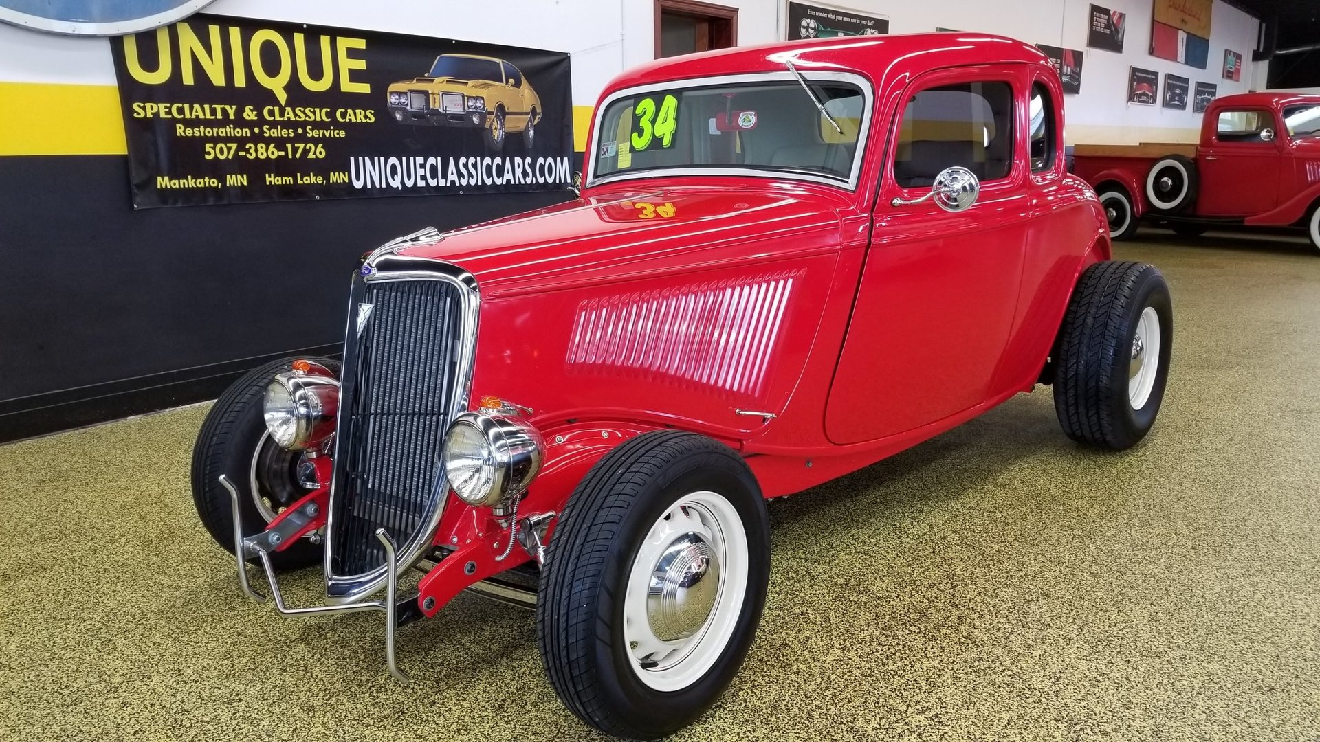 1934 Ford Coupe 5-Window for sale #75453 | MCG