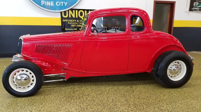 1934 ford coupe my classic garage for 1934 ford five window coupe for sale
