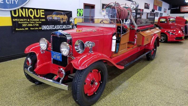 1929 Chevrolet Fire Truck
