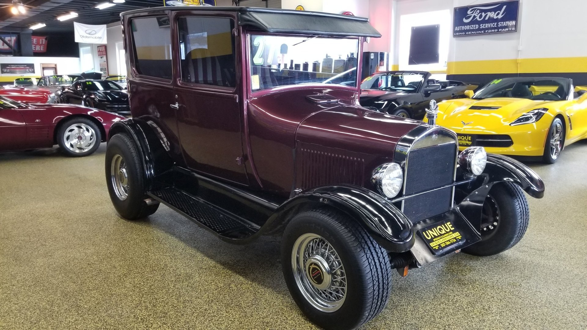 1927 Ford Model T 2dr Street Rod for sale #80552 | MCG