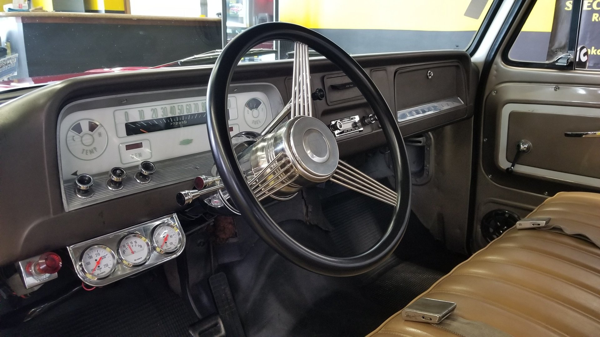 1966 Chevrolet C10 Unique Specialty Classics 1964 Chevy Truck Heater Controls Back Zoom Icon Show Pictures