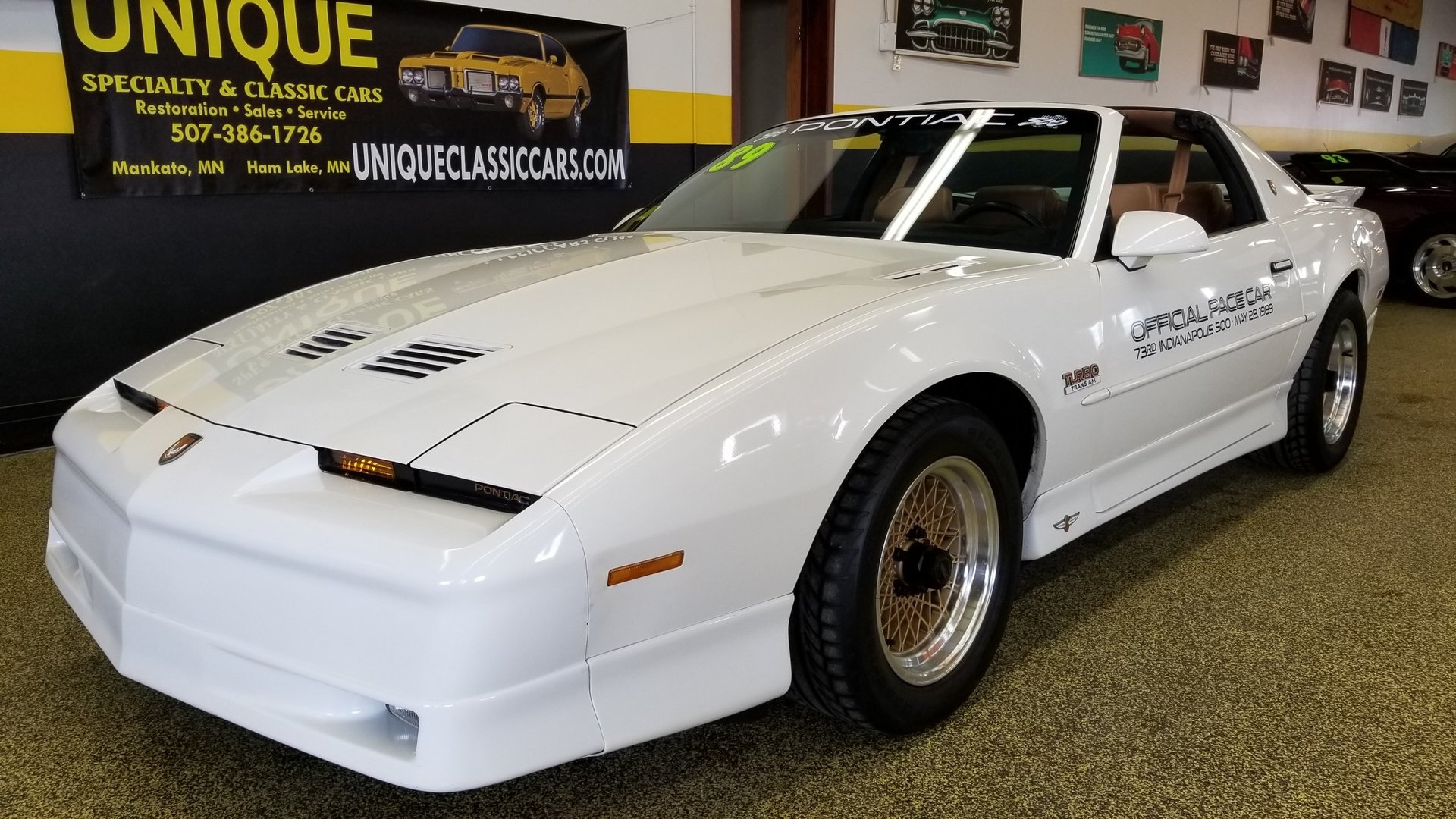 1989 Pontiac Firebird Turbo Trans Am Indy Pace Car for sale #81470   MCG