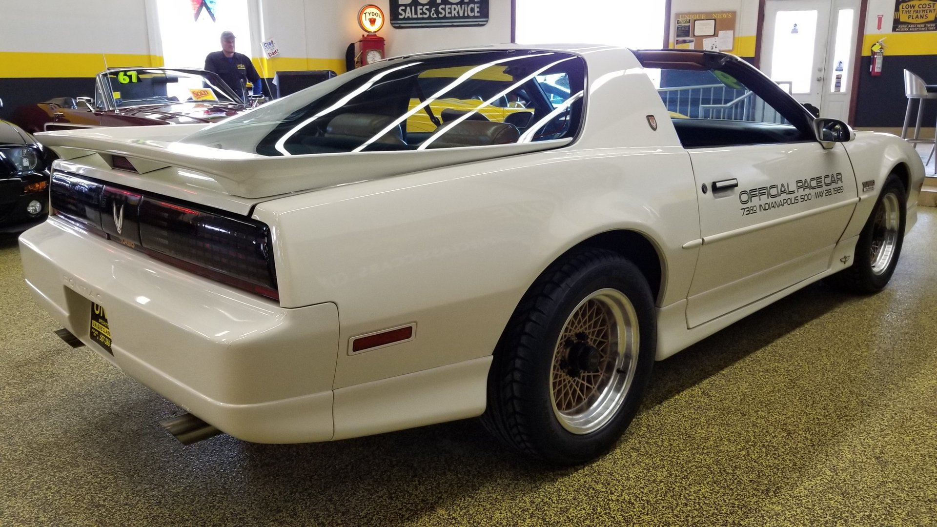 1989 pontiac firebird turbo trans am indy pace car for. Black Bedroom Furniture Sets. Home Design Ideas