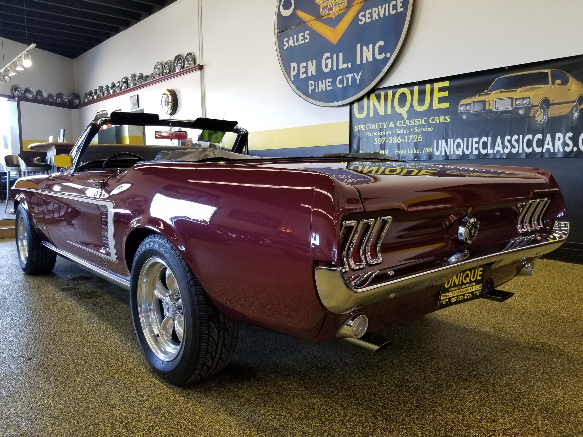 1967 Ford Mustang Convertible for sale #83378 | MCG