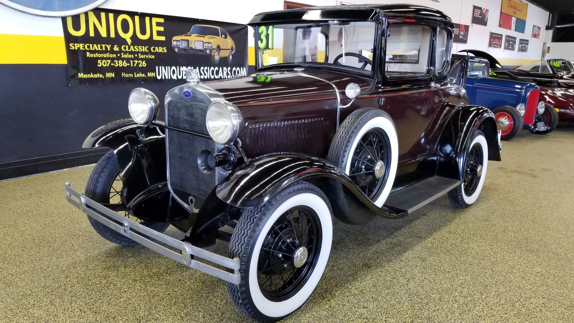 Ford Model A Coupe w/Rumbleseat | eBay