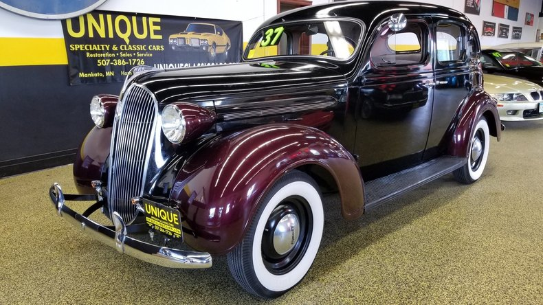 1937 Plymouth Deluxe 4 Door Sedan