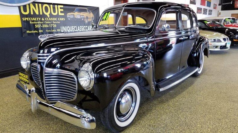 1941 Plymouth Special Deluxe 4 door sedan