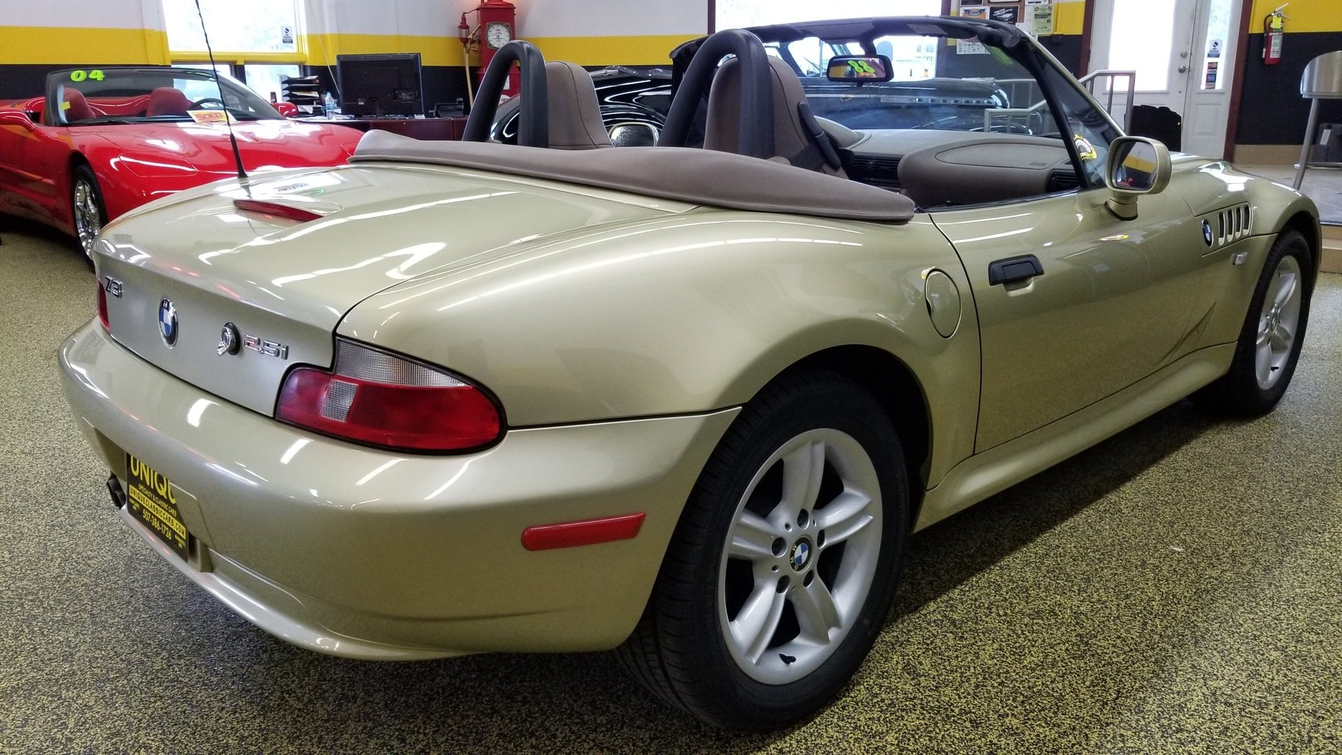 2001 Bmw Z3 2 5 Convertible For Sale 89072 Mcg