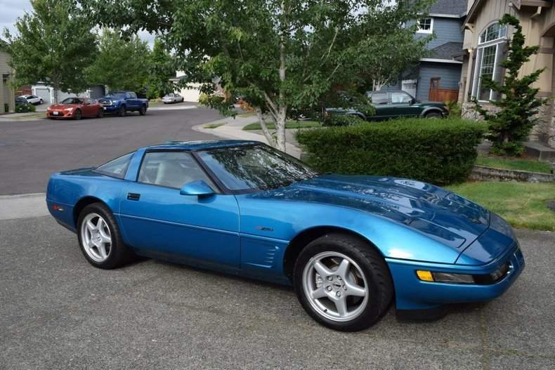 1995 chevrolet corvette zr1 for sale 88496 mcg. Black Bedroom Furniture Sets. Home Design Ideas