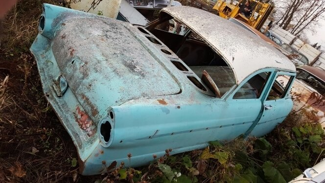 1955 Ford 2dr Post