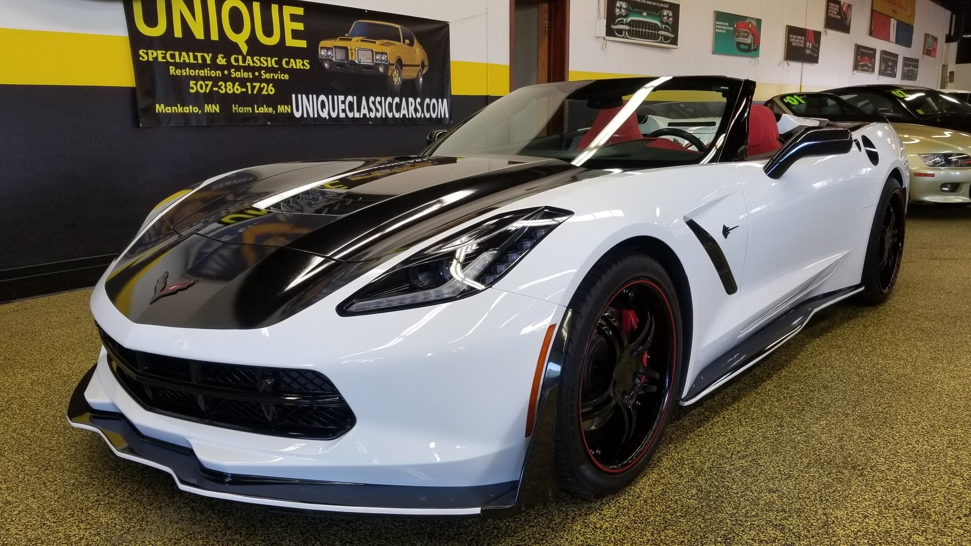 2016 chevrolet corvette stingray convertible 3lt for sale 89350 mcg. Black Bedroom Furniture Sets. Home Design Ideas
