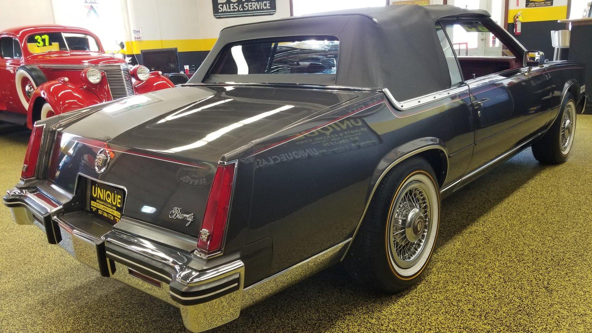 1985 cadillac eldorado biarritz convertible for sale. Black Bedroom Furniture Sets. Home Design Ideas