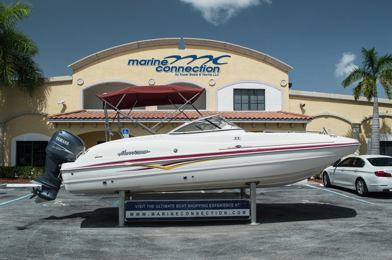Used 2007 Hurricane SunDeck SD 237 OB boat for sale in West Palm Beach, FL