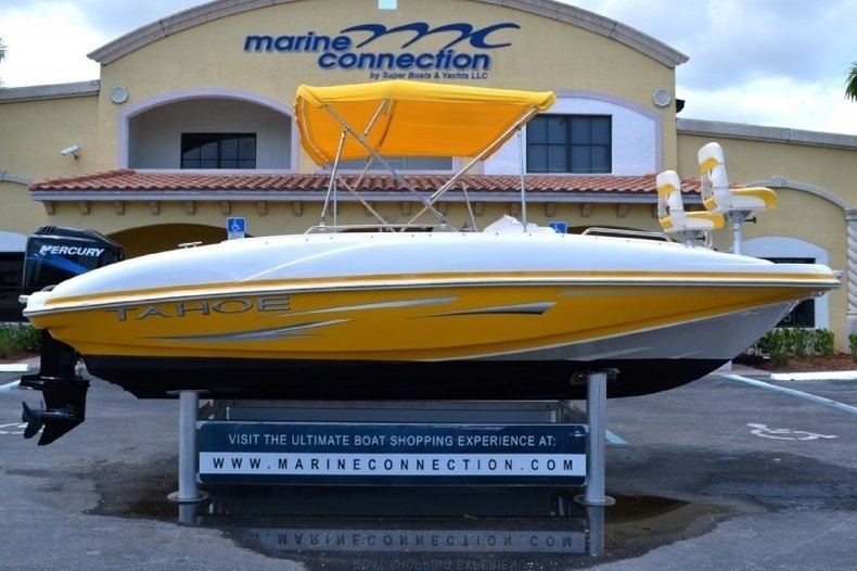 Used 2007 Tahoe 195 Deck Boat boat for sale in West Palm Beach, FL ...