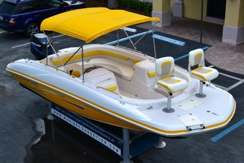 Photos - Used 2007 Tahoe 195 Deck Boat boat for sale in West Palm ...