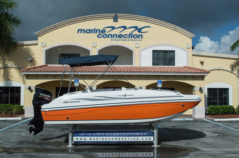 New 2015 Hurricane SunDeck Sport SS 188 OB boat for sale in West Palm Beach, FL