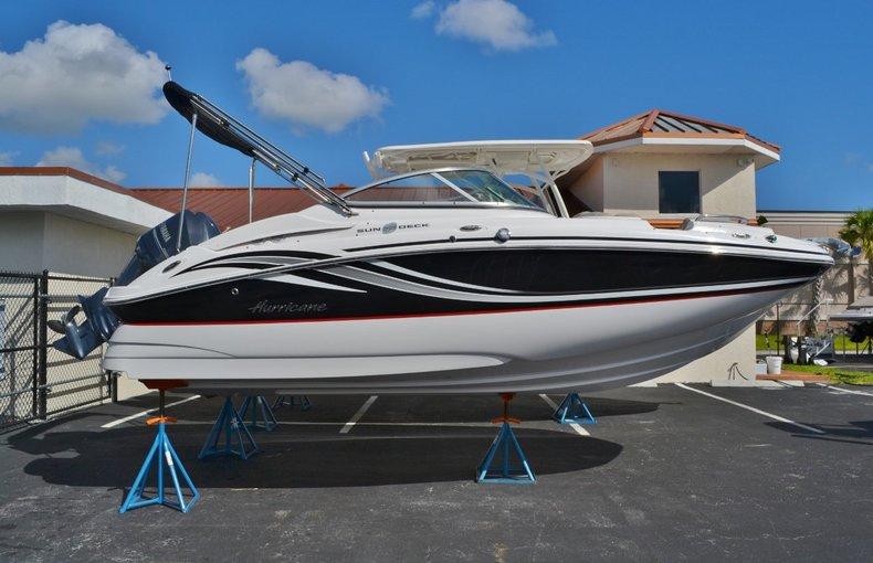 New 2014 Hurricane SunDeck SD 2000 OB boat for sale in Vero Beach, FL