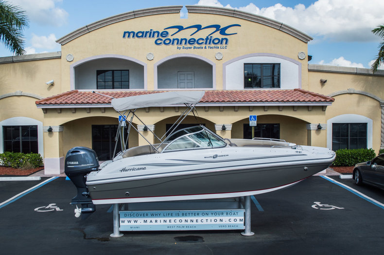 New 2015 Hurricane SunDeck SD 187 OB boat for sale in West Palm Beach, FL