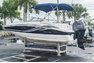 Thumbnail 3 for Used 2013 Hurricane SunDeck SD 2200 OB boat for sale in Vero Beach, FL