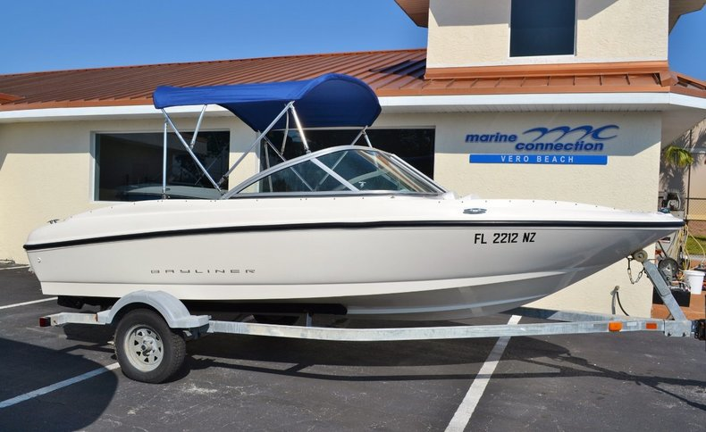 Used 2009 Bayliner 175 BR boat for sale in Vero Beach, FL