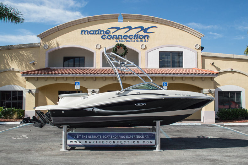 Used 2009 Sea Ray 185 Sport Bowrider boat for sale in West Palm Beach, FL
