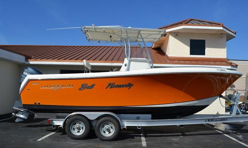 Used 2007 Sailfish 2360 CC Center Console boat for sale in Vero Beach, FL