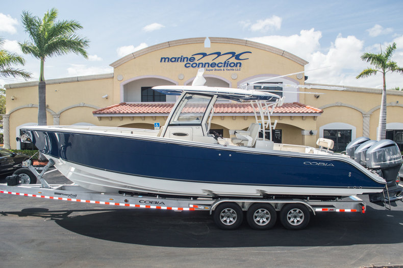 New 2016 cobia 344 center console boat for sale in west for Boat motors for sale in florida