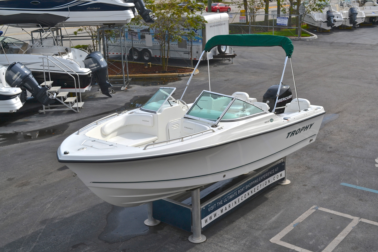 Used 2008 Trophy 1806 Dual Console Boat For Sale In West