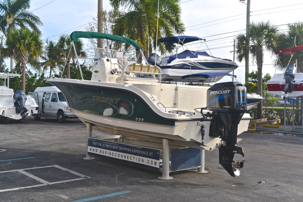 Used 2002 Trophy 2103 Center Console Boat For Sale In West