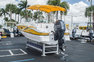 Thumbnail 7 for Used 2013 Hurricane SunDeck SD 2000 OB boat for sale in West Palm Beach, FL