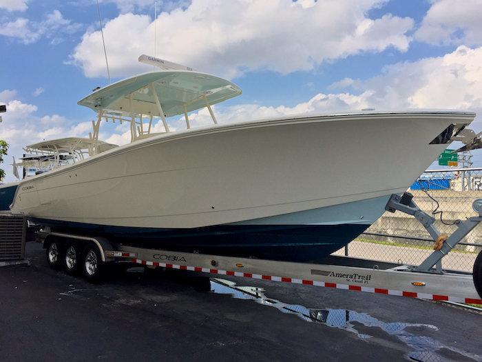Used 2014 Cobia 344 Center Console boat for sale in Miami, FL