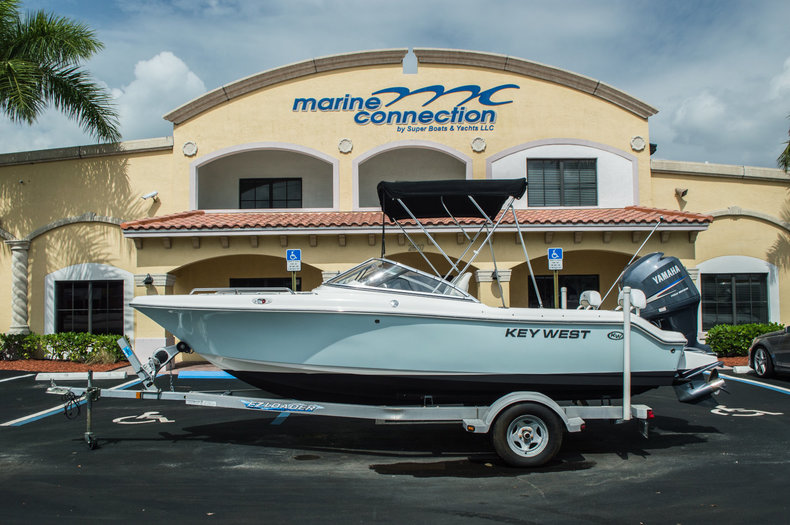 Used 2010 Key West 186 DC Dual Console boat for sale in West Palm Beach, FL