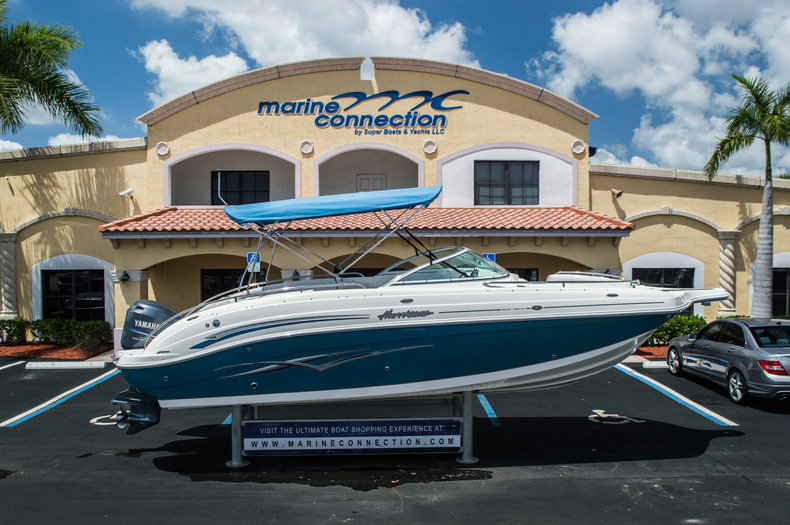 Used 2007 Hurricane Sundeck 257 DC boat for sale in West Palm Beach, FL