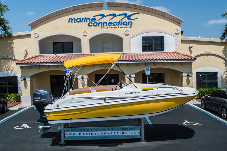 Used 2012 Hurricane SunDeck Sport SS 188 OB boat for sale in West Palm Beach, FL