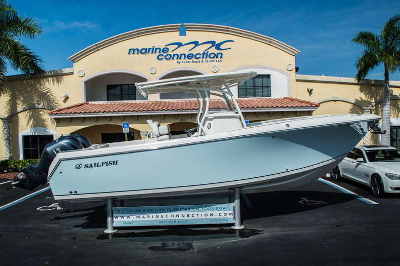 New 2016 Sailfish 270 CC Center Console boat for sale in West Palm Beach, FL