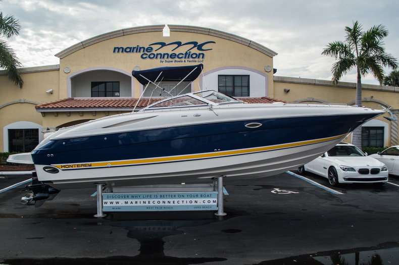 Used 2002 Monterey 2985 Bowrider boat for sale in West Palm Beach, FL