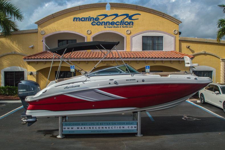 New 2016 Hurricane SunDeck SD 2400 OB boat for sale in West Palm Beach, FL